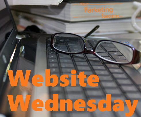 Website Wednesday in Your Marketing Lounge