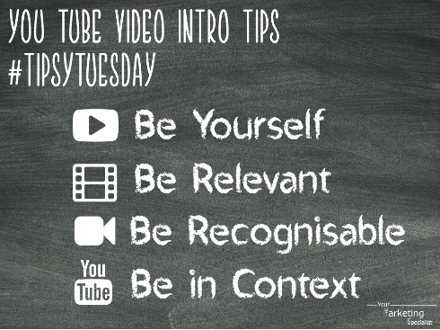 You Tube Intro Tips FB