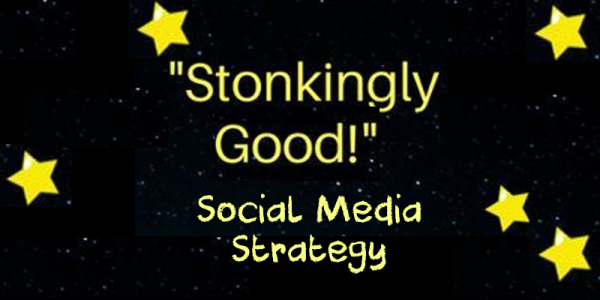 stonkingly good social strategy