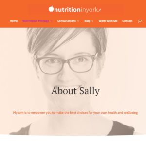 Sally Duffin Nutrition in York